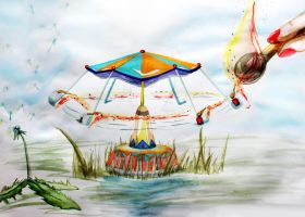 carousel by RoteAlmandesse