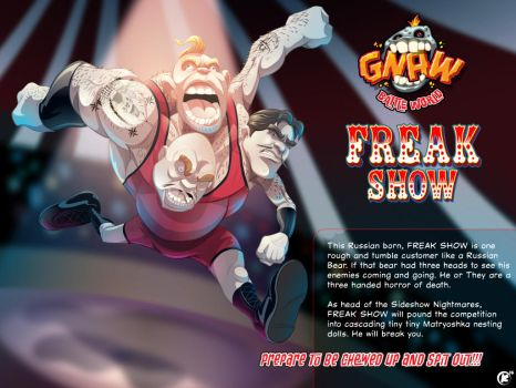 Freak Show by universe-K