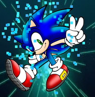 Sonic Colors Power by Mephilez