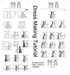Metaseq Dress Making Tutorial Showing All Steps by missmmd