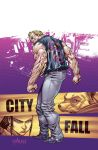 TMNT#27: City Fall_cover by Santolouco