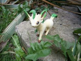 Wild Leafeon Appeared! II by Fimochu