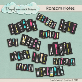 Ransom Note by DaydreamersDesigns
