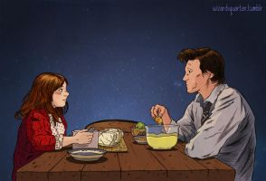 Fish fingers and custard by wizardsquarter