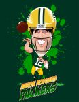 Aaron Rodgers by kgreene