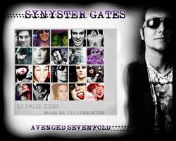Synyster Gates by poisonedXlips