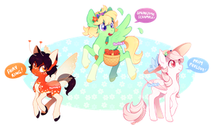 MLP adoptable auction - spring feelings (CLOSED) by tsurime