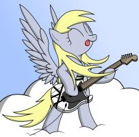 Power Metal Derpy by FriendshipIsMetal777
