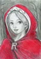 Little Red Riding Hood. Face. by SquirrelHsieh