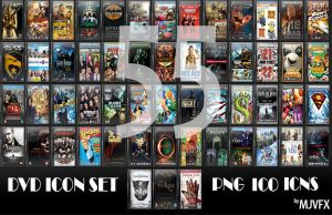 DVD Case Icons + Movies in Sequesl -- MJVFX by MJVFX