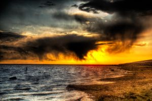 Sunset Storm 2 by t-3-t