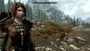 Shireen in Skyrim by Classique-Cat