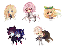 Com: Chibi batch 2 by Myul