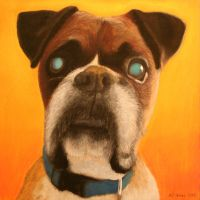 Oscar - Pastel Pet Portrait by geraden22
