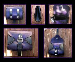 Purple belt bag by Miss-Gato