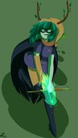Huntress Wizard by kyoukorpse
