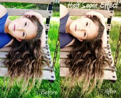 Half Sepia Effect PS Action FREE by EmilyLPhotography