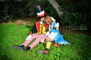Let me tell you a story - Lelouch and Nunnally by Carlos-Sakata