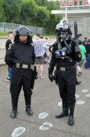Imperial Navy Trooper & TIE Fighter Pilot by masimage