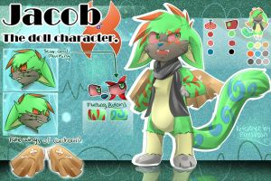 Character Reference Commission LightningBlastA by Hideaki-FV2