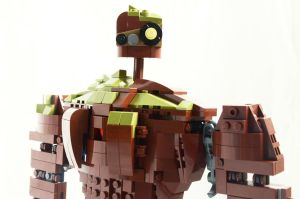 LEGO Castle in the Sky Robot - Detail by needsLEGO
