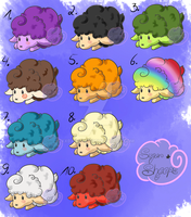 Sugar Sheeps (10/10 OPEN) Each 50 points~ by xxBakaaxx