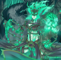 Thresh  The chain warden by Exaxuxer