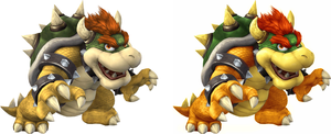 SSBB Bowsers by BLZofOZZ