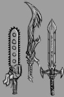 Speed Paint Swords by Mr-Hades