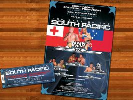 Boxing Event Advertising by syntex-nz