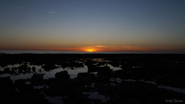 Birling Gap Sunset by Andyd4