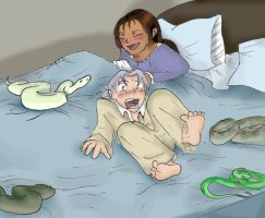 Sleeping with Snakes by Maru-sha