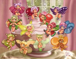 new+improved 12 Fairy Bowl by solipherus