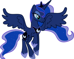 The princess of the night has arrived by porygon2z