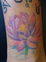 Lotus Tattoo by Inkarus