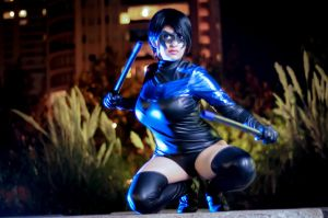 Nightwing Cosplay IV by YutarnaThetys