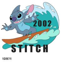 Stitch surfing by BrianMainolfi