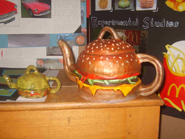 A Burger Teapot by The-Irish-Clover