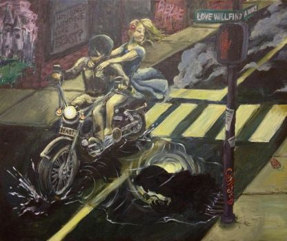 Beauty and The Biker by Elizabeth-H