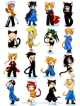 FullMetal Kitties by MoonlightAlchemist