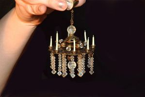 Miniature Chandelier by MiniCarly
