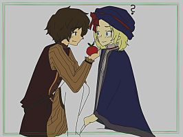 aph: Spain and France by FrenchDramaQueen