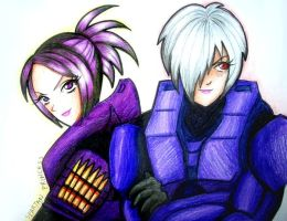 Chris and Runa by SpartanB214
