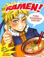 numbah one noodle fo ninja by chupachup