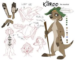 Meerkat Character - Karoo by stuffed