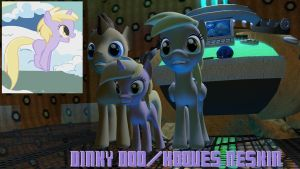 Source Pony Reskin - Dinky Doo/Hooves by mattwo