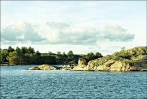 August 1st Sunny Afternoon In Archipelago  by eskile