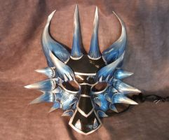 Ice Dragon Mask by Jedi-With-Wings