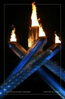 Olympic Flame II. by Bleezer