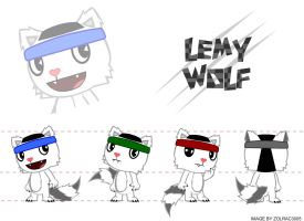 LemyWolfDT by MannieWoo